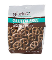 Glutino Chocolate Pretzel Twists, 5.5oz