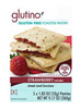 Glutino Unfrosted Strawberry Toaster Pastries, 5 pack