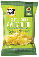 Good Health Avocado Oil Lime Ranch Kettle Chips, 5oz.