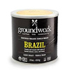 Groundwork Organic Brazil Coffee,  1LB