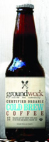 Groundwork Organic Cold Brew Coffee, 12oz.