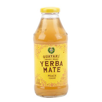 Guayaki Yerba Mate Peach Terere Tea, 16 oz.