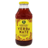 Guayaki Yerba Mate Raspberry Terere Tea, 16 oz.