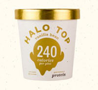 Halo Top Vanilla Bean, 1 Pint
