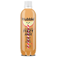 Hubble Apple Ginger Cold Pressed Fizzy Juice, 12 oz._THUMBNAIL