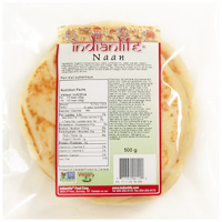 IndianLife Plain Naan Flatbread, 5 pack