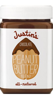 Justin's Chocolate Peanut Butter Jar, 16oz.