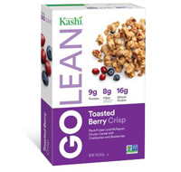 Kashi GoLean Toasted Berry Crisp Cereal, 14oz