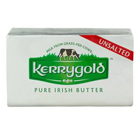 Kerrygold UnSalted Butter Two 4oz Sticks, 8oz.