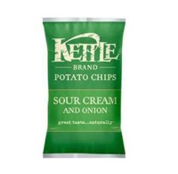 Kettle Brand Sour Cream & Onion Potato Chips, 8.5 oz.