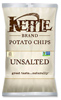 Kettle Brand Unsalted Potato Chips, 5oz