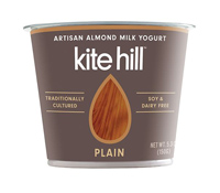 Kite Hill Plain Almond Milk Yogurt, 5.3oz