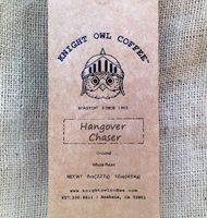 Knight Owl Hangover Chaser Whole Bean Coffee, 8oz