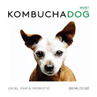 Kombucha Dog Hint of Mint Kombucha,  12oz