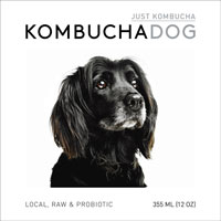 Kombucha Dog Just Kombucha,  12oz