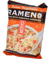Koyo Natural Foods Asian Vegetable Ramen, 2.1 oz.