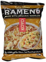 Koyo Natural Foods Tofu & Miso Ramen, 2 oz.