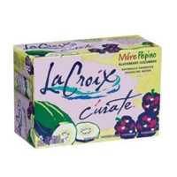 La Croix Curate Blackberry Cucumber Sparkling Water, 8pk