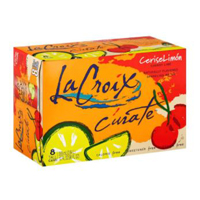 La Croix Curate Cherry Lime Sparkling Water, 8pk.