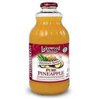 Lakewood Pure Pineapple Juice, 32oz.