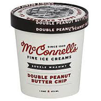 McConnell's Double Peanut Butter Chip Ice Cream,  1 Pint_MAIN
