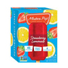 Modern Pop Strawberry Lemonade Frozen Fruit Bars, 4 pack
