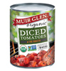 Muir Glen Organic Fire Roasted Diced Tomatoes, 28oz