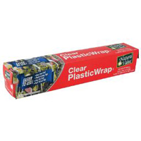 Natural Value Plastic Wrap, 100ft