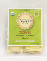 Nuovo Organic Garlic and Herb Ravioli, 9oz.