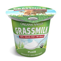 Organic Valley Plain Grassmilk Yogurt, 6 oz.