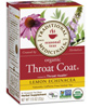 Traditional Medicinals Organic Throat Coat Tea with Lemon Echinacea, 1.13oz