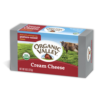 Organic Valley Cream Cheese, 8oz.