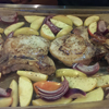 * Oven-Baked Pork and Apples
