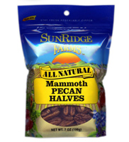Sunridge Mammoth Pecan Halves, 6oz.