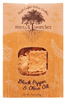 Roots & Branches Black Pepper & Olive Oil Crackers, 7oz.
