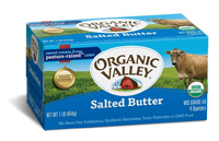 Organic Valley Salted Butter, 16oz.