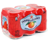 Sanpellegrino Sparkling Blood Orange, 6pk.