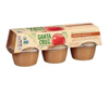 Santa Cruz Organic Cinnamon Apple Sauce, 6 pack