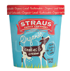 Straus Organic Cookies & Cream Ice Cream, Pint