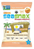 SeaSnax Organic Roasted Seaweed Snack (Onion), 0.18oz.