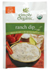 Simply Organic Ranch Dip Mix, 1.5 oz