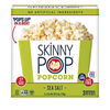 Skinny Pop Sea Salt Microwave Popcorn, 3 pack