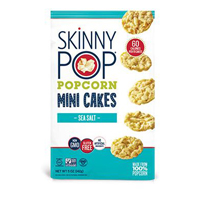 Skinny Pop Sea Salt Popcorn Mini Cakes, 5 oz.