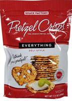Snack Factory Everything Pretzel Crisps, 7.2oz.