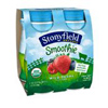 Stonyfield Organic Wild Berry Smoothies, 4 - 6oz.