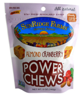 Sunridge Farms Almond Cranberry Power Chews, 5oz.