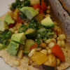 * Veggie Tacos with Chimichurri