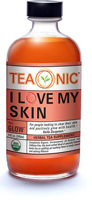 Teaonic I Love My Skin Herbal Tea Supplement, 8oz.