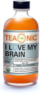 Teaonic I Love My Brain Herbal Tea Supplement, 8oz.