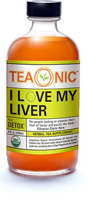 Teaonic I Love My Liver Herbal Tea Supplement, 8oz.